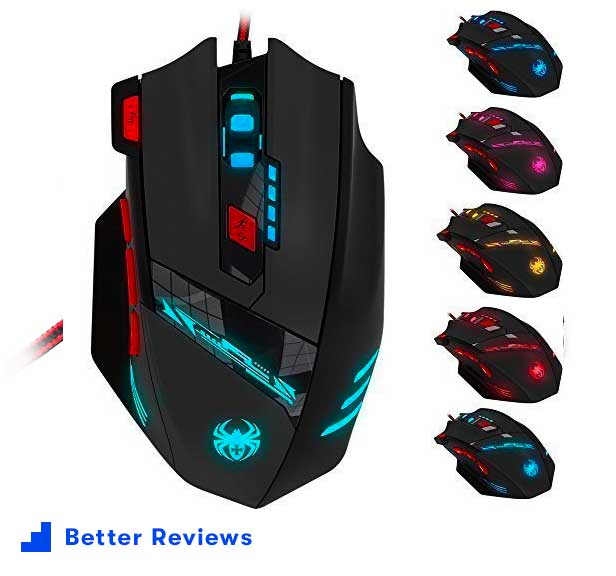 Zelotes T90 Professional - Best Gaming Mouse