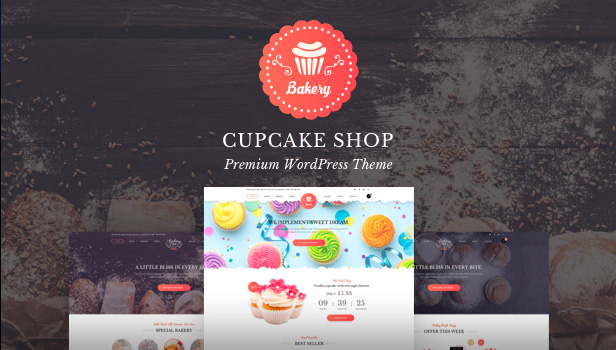 Bakery - Premium Bakery WordPress Themes
