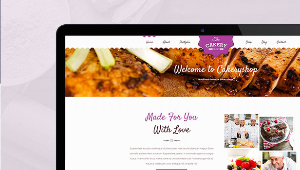 Cakeryshop - Cake Shop WordPress Theme