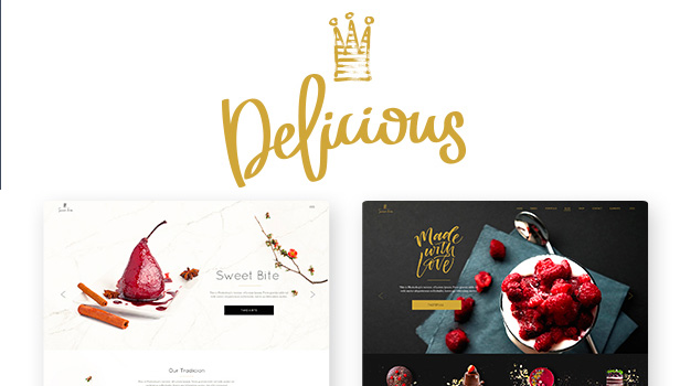 Baker - Bakeries, Cake Shops, and Pastry Stores WordPress Theme