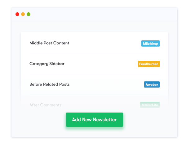 Unlimited Newsletter Form