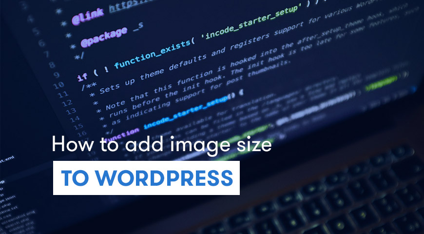 add image size wordpress
