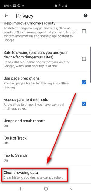 How to Clear Browser Cache on Android devices? - BetterStudio