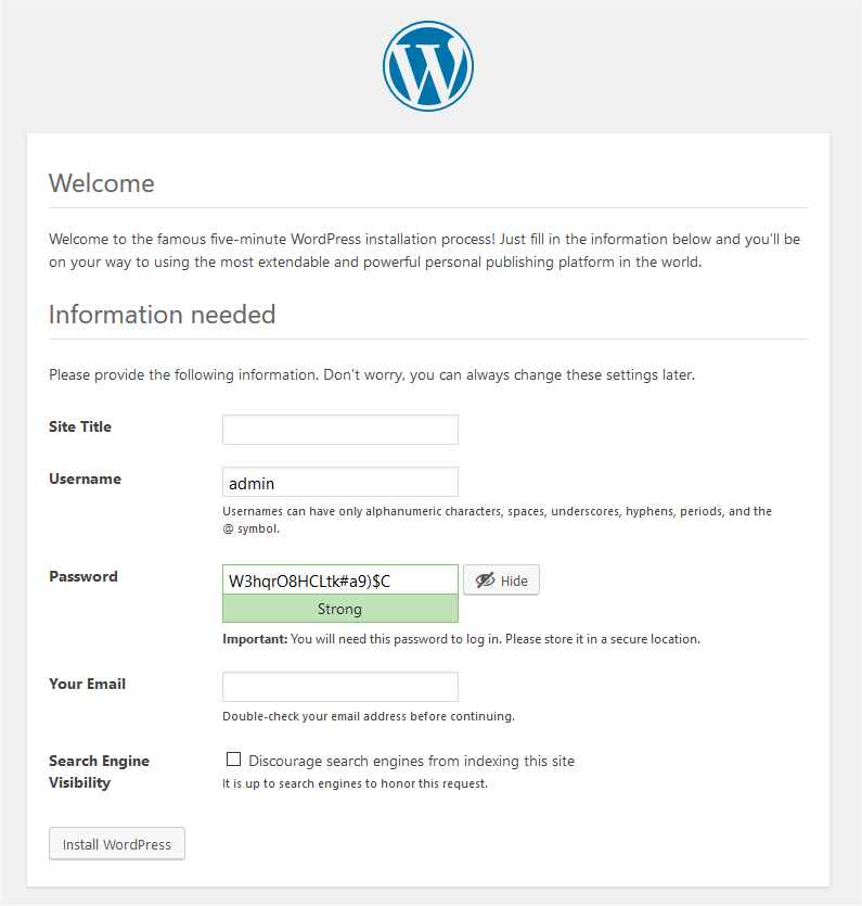 how to uninstall wordpress