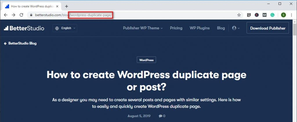 What Is a Slug in WordPress