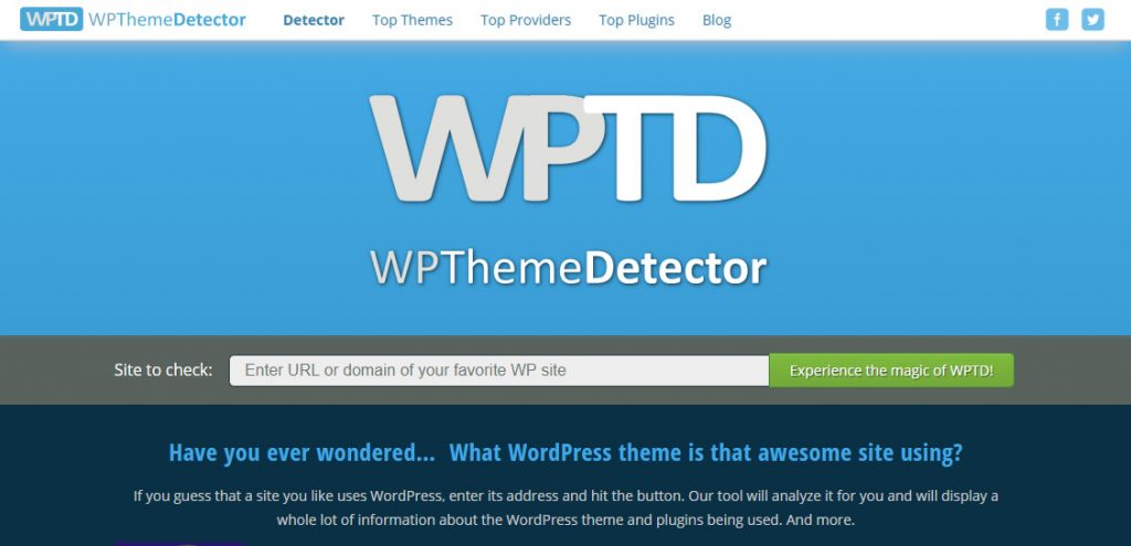What WordPress Theme a Site is Using