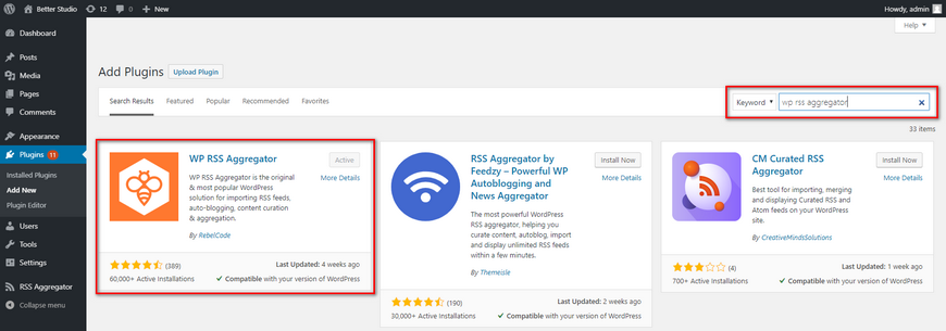 How to Import RSS Feed into WordPress?