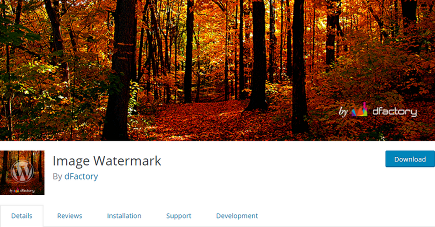 Image Watermark in WordPress
