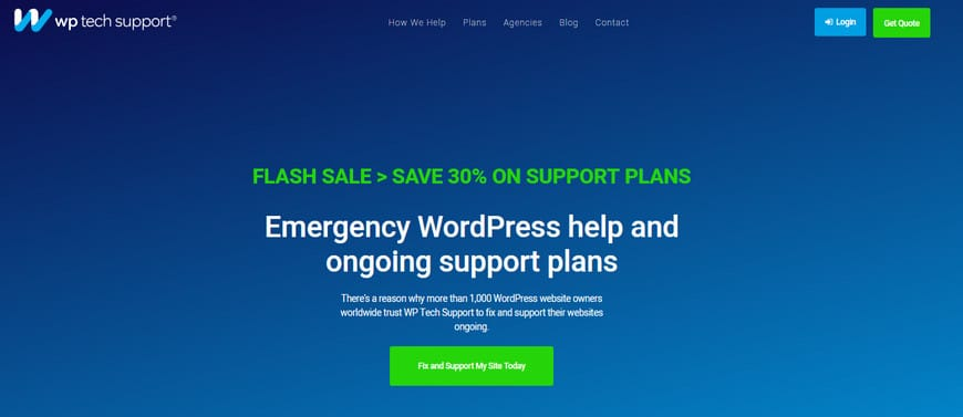 WordPress Maintenance and Support Service