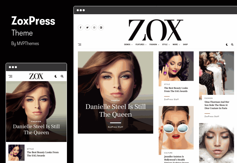 ZoxPress Theme - The All-In-One WordPress News Theme