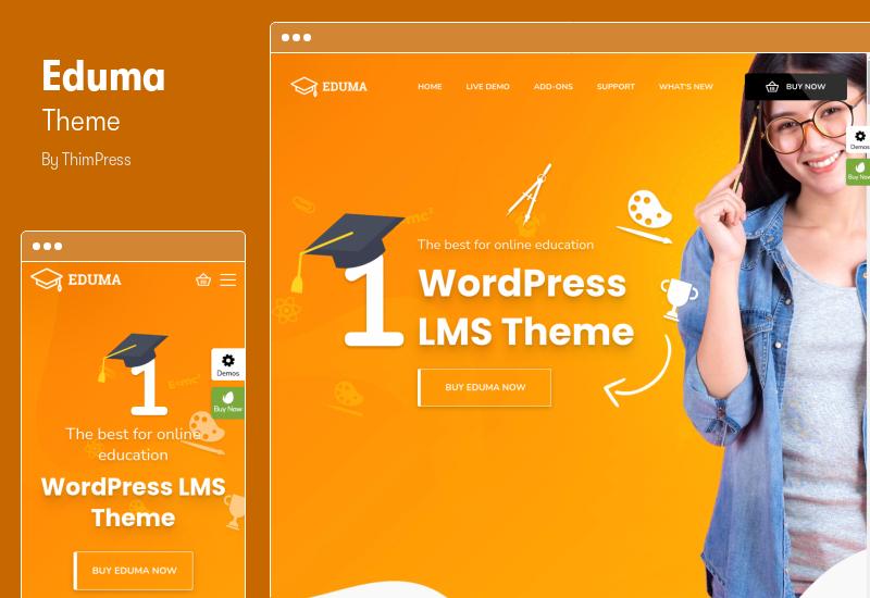 Eduma Theme - Education Elementor Theme for WordPress