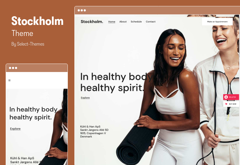 Stockholm Theme - A Genuinely Multi-Concept Theme
